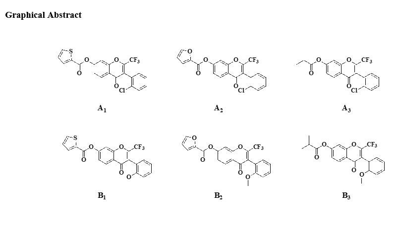 Synthesis and structural elucidation of a series of isoflavones-based on FPR antagonists