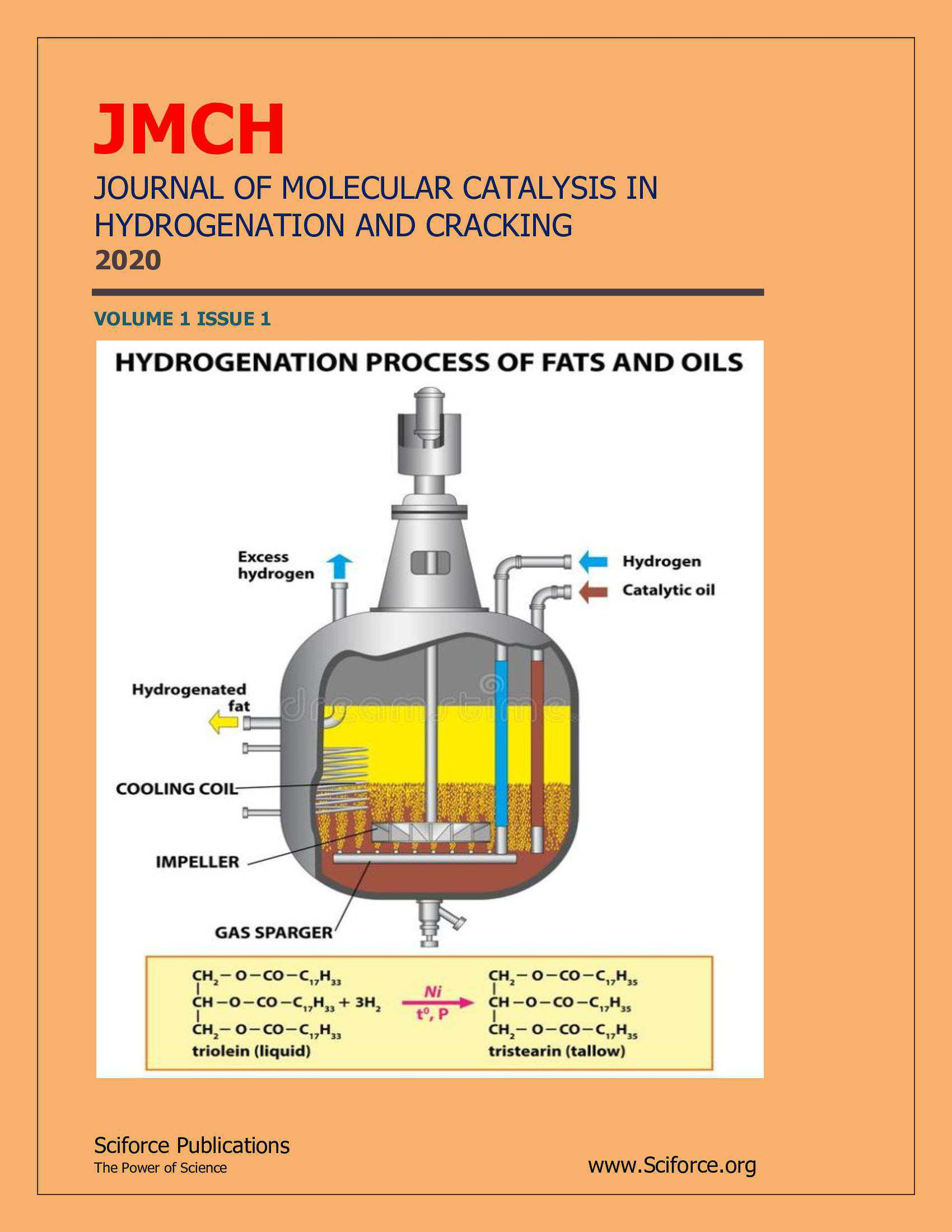 Journal of Molecular Catalysis in Hydrogenation and Cracking