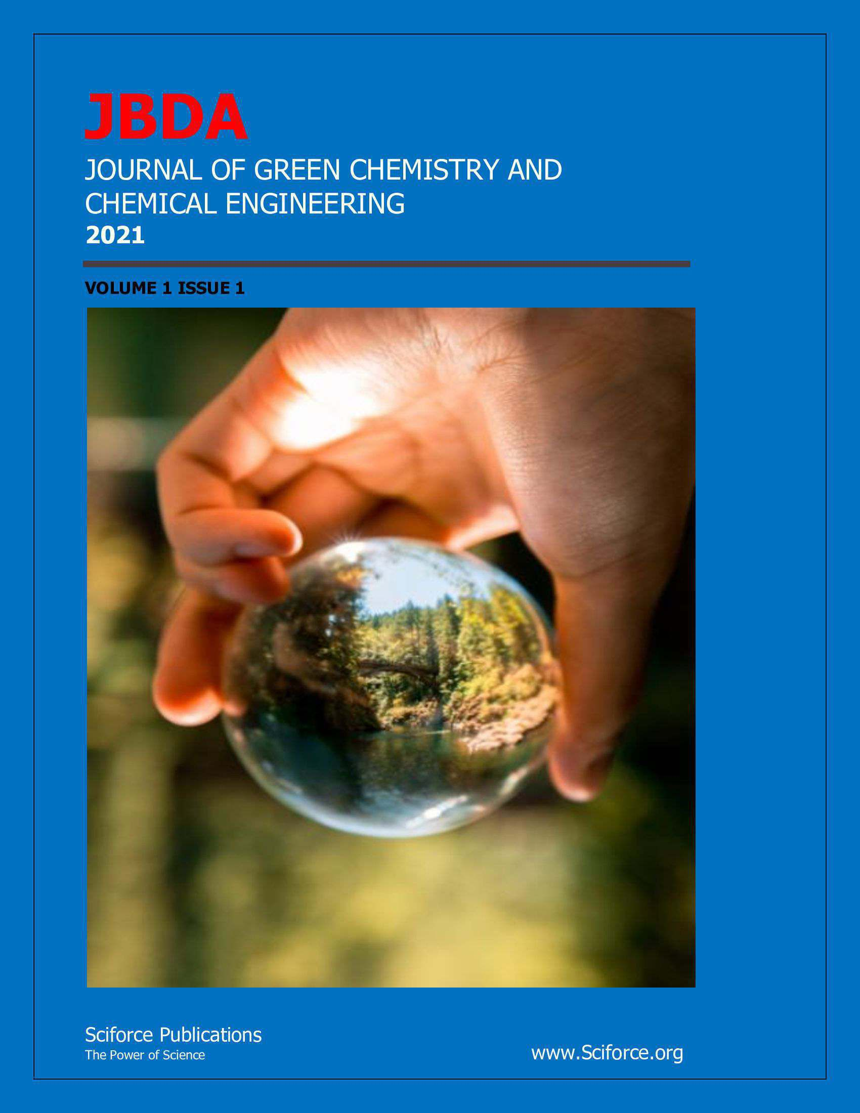 Journal of Green Chemistry and Chemical Engineering