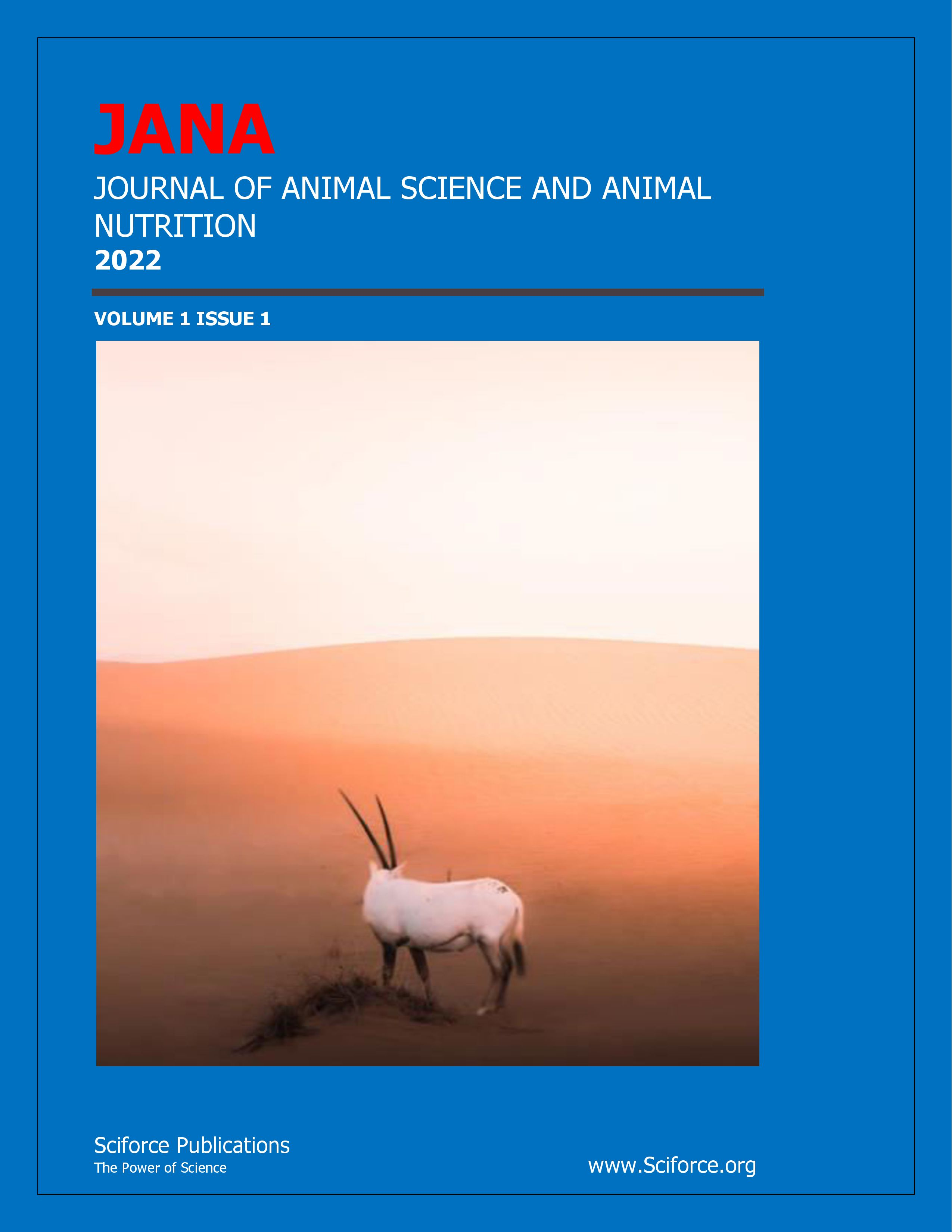 Journal of Animal Nutrition and Animal Sciences