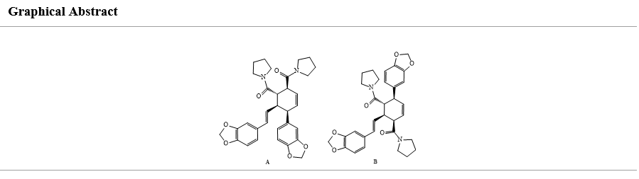 Isolation, characterization and semi-synthesis of natural products dimeric amide alkaloids
