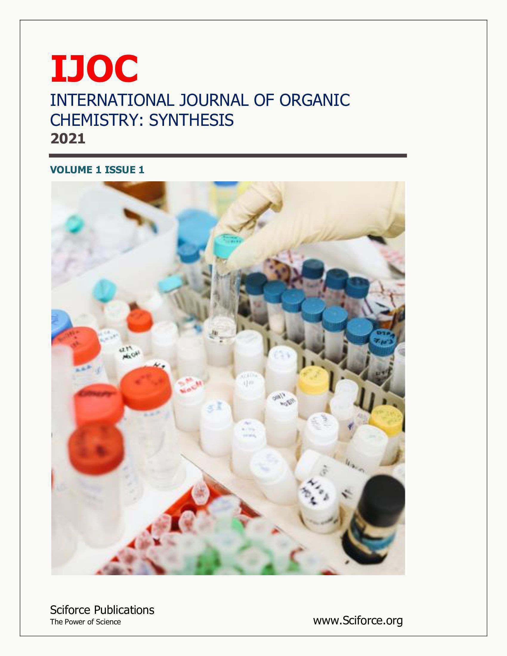 International Journal of Organic Chemistry: Synthesis